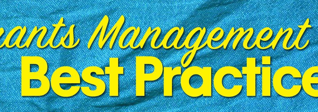 Best Practices for Grants Management