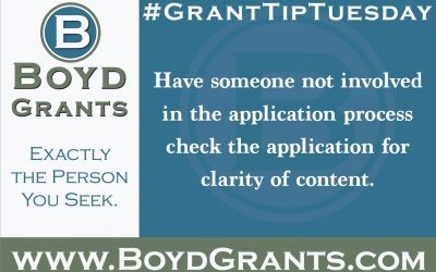 #GrantTipTuesday
