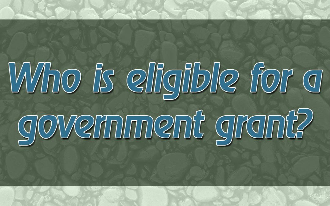 Who is Eligible for a Government Grant?