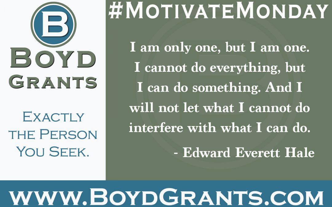 #MotivateMonday